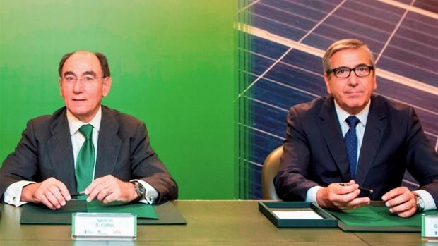 Ignacio Cologne, director general de Iberto Rola, y José Carlos García de Cueto, presidente de ICO.