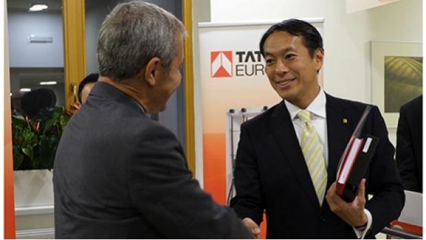 President of Tatsuno Europe Hidehito Umezawa