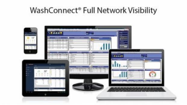 ICS WashConnect® multi-site management system
