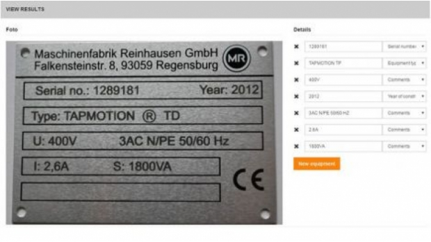 PetrolPlaza Special Cloud-based solutions: OMIS includes now a self-learning OCR system for type plates