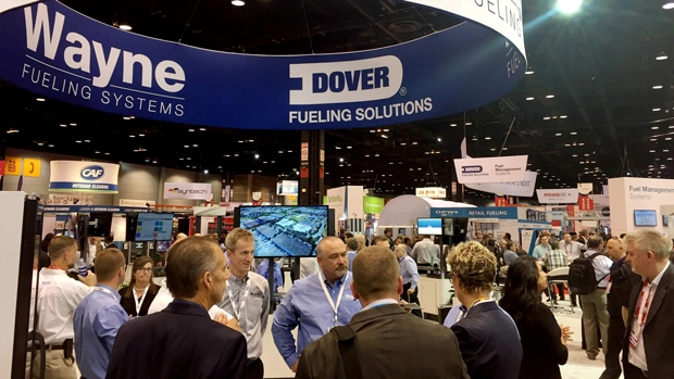 Dover Fueling Solutions at PEI/NACS for the first time under the DFS brand
