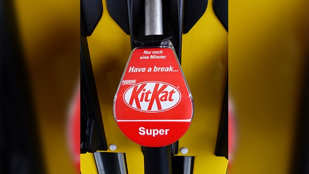 20 years ago, KitKat was one of the first products to feature on fuel pumps.