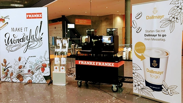 Franke Coffee Systems at the 2018 UNITI expo