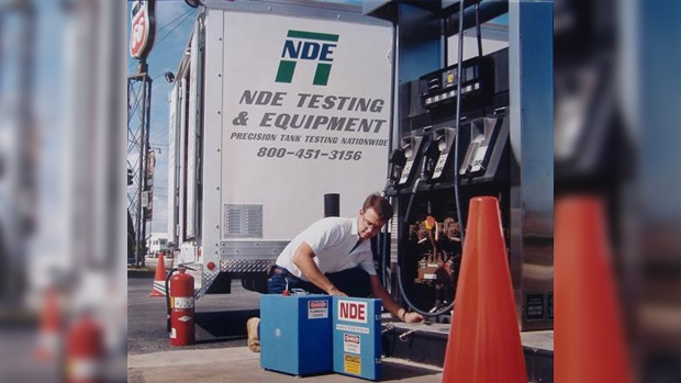 NDE Line Test at Phillips 66