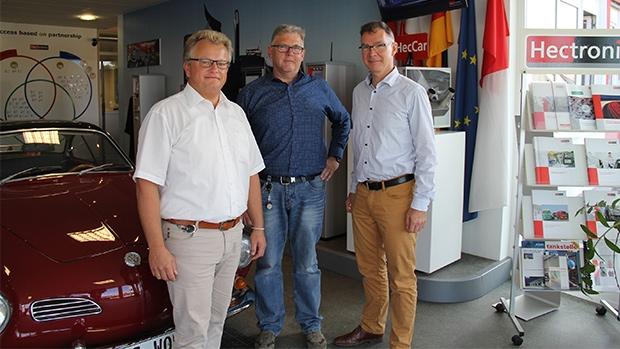 From left to right: Frank Gampp, Eckhard Fechtig & Stefan Forster