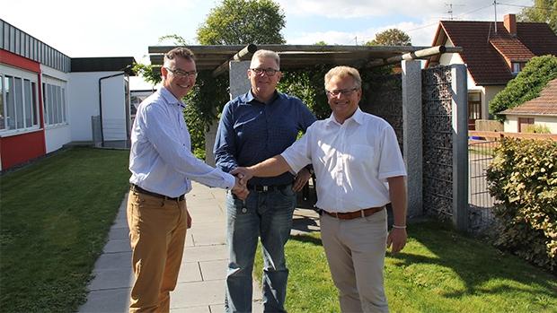 From left to right: Stefan Forster, Eckhard Fechtig & Frank Gampp