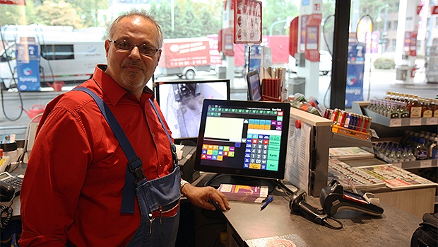 POS systems from Scheidt & Bachmann simplify work for cashiers in the Esso petrol station network