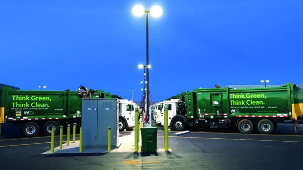 Waste Management opens new CNG fueling station in Florida